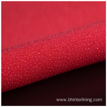 Colorful Double dot coating woven fusible interlining