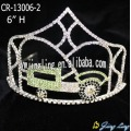 6 Inch Rhinestone Car Tractor Crowns Kids