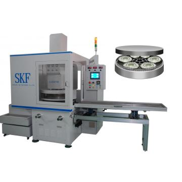 High precision surface fine gridning and polishing machine