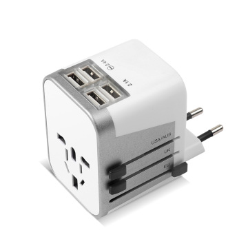 4 USB Ports International Travel Power Adapter