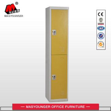 Yellow Clothes Metal Locker