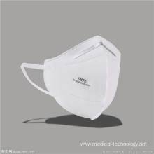 Pm 2.5 N95 Horizontal Fold Face Masks Disposable