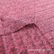Polyester Rib Knitting Fabric