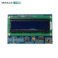 Brightness Adjustable 1602LCD 1602 LCD Shiled I2C IIC MCP23017 5 Keypad 16x2 Character LCD Display Module For Arduino UNO