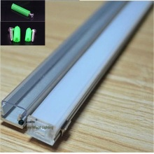 10pcs/lot 40inch 1m per piece ultra slim led channel, led aluminium profile for 8mm PCB board ,led bar light for 3528 strip