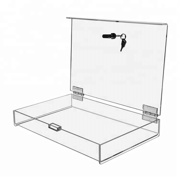 Acrylic Display Box With Lock