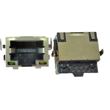 8P8C RJ45 8P8C DIP Sink in Type
