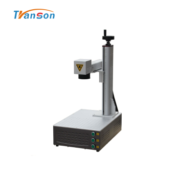 Mini Portable 20W Fiber Laser Metal Marking Machine