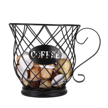 Coffee Capsule Organizer Storage Basket Practical Coffee Drawers Capsules Holder For Nespresso Coffee Capsule Shelves
