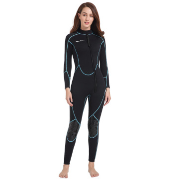 Seaskin Womens Front Zip Scuba Diving Suit