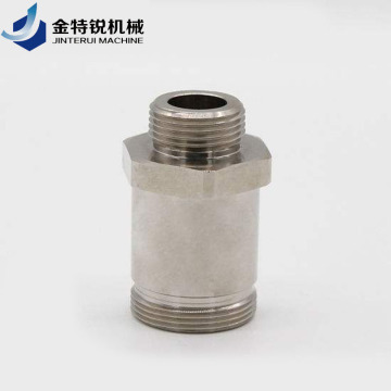 High Precision Air Compressor Screw Cnc Turning Parts