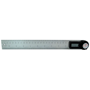 Digital Angle Finder Ruler 300 mm Digital Protractor 2-in-1 Angle Gauge