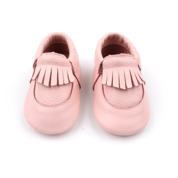 Genuine leather first walkers baby leather shoes moccasins