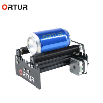 ORTUR 3d Printer Laser Engraving machine Y-axis Rotary Roller Engraving Module for Engraving Cylindrical Objects Cans