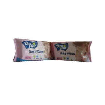 Non Alcohol Fresh Scented Hygienic Baby Wet Wipes