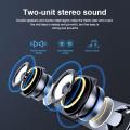 USB Wired Speaker Computer Bluetooth Speaker LED Light Bar Stereo Subwoofer Bass Speaker Surround Sound Box For PC Laptop Phone