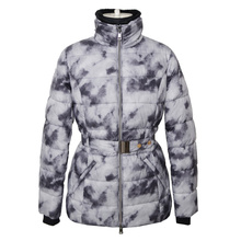 Ladies printed padding jacket