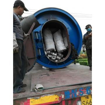 Solutions to wastes tires pyrolysis to oil plants
