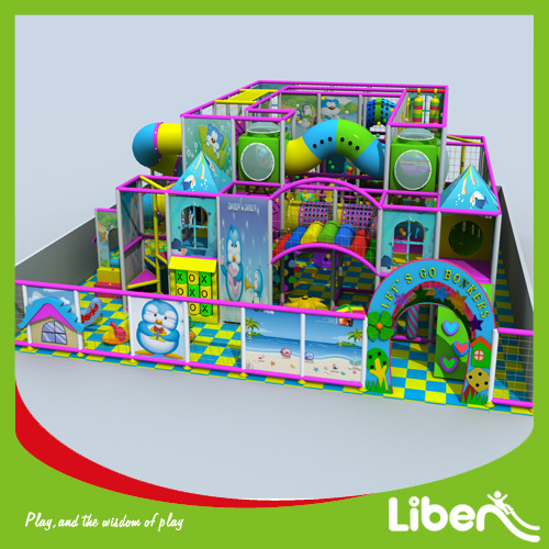 Huge indoor amusement playground