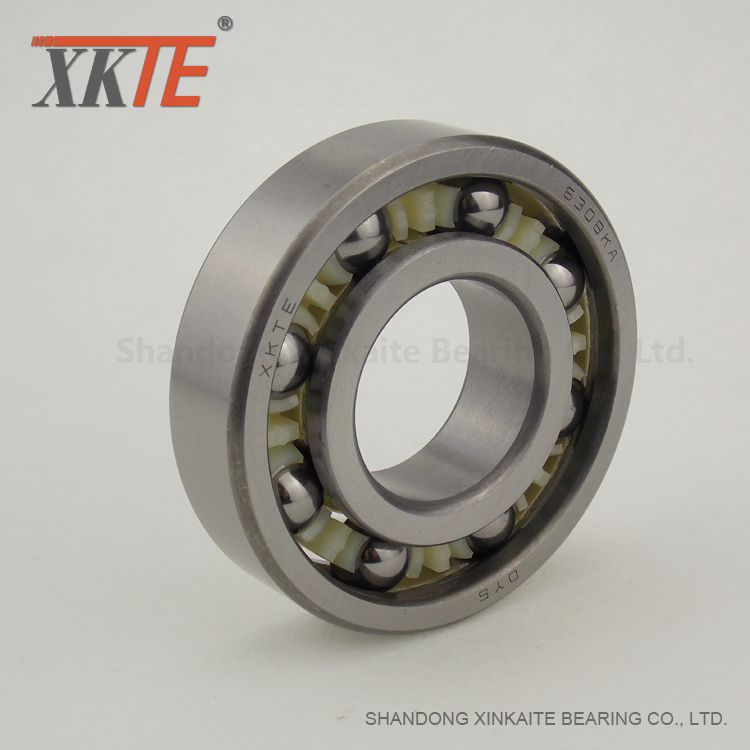 Conveyor Idler Assembly Nylon Cage Ball Bearing