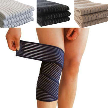 1Pcs Cotton Elastic Bandage For Wrist Calf Elbow Leg Ankle Protector Compression Knee Support Band Sport Tape Fitness Safety