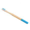 Nature Eco-friendly Charcoal Bristle Round Bamboo Toothbrush