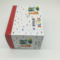 colorful printed cardboard packing gift box