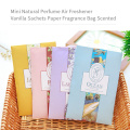 6 Scents Air Freshener Home Lavender Refresher Hanging Fragrant Sachet Wardrobe Aromatherapy Bag Anti-insect and Anti-mold