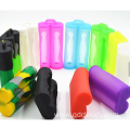 Silicone Li-ion rechargeable 3.7V battery  case