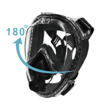anti fog easy breath diving set scuba mask