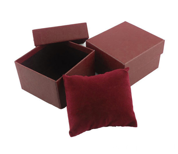 Kraft Paper Watch Box with Sponge Pillow