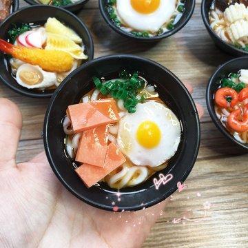 70mm 3D food simulation refrigerator magnet decoration message photo paste stikcer bowl beef seafood vegetables eggs