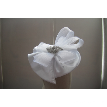 NEW-Women's Satin Church Fascinators Hats --YJ87