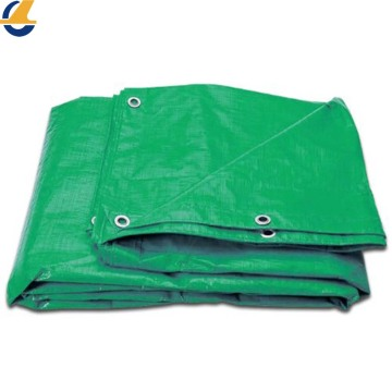 Green Woven Poly Tarpaulin Breathable
