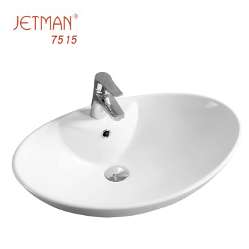 Bathroom ceramic sanitary ware vanity basin/wash building material