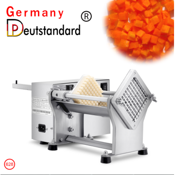 Electric French Fries Cutter Potato Chips Carrots Veggie Stick Strip Cutting Machine