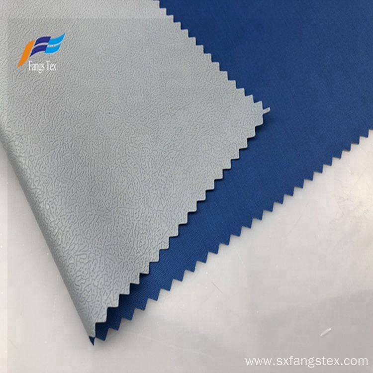 100% Polyester PVC 170T Taffeta Raincoat Fabric