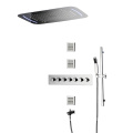 HIDEEP Bathroom Thermostatic Rain Shower Mixer