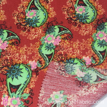 High quality rayon gauze fabric with digital printing