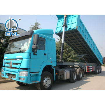 50 Ton 2 Axles Semi Trailer Truck