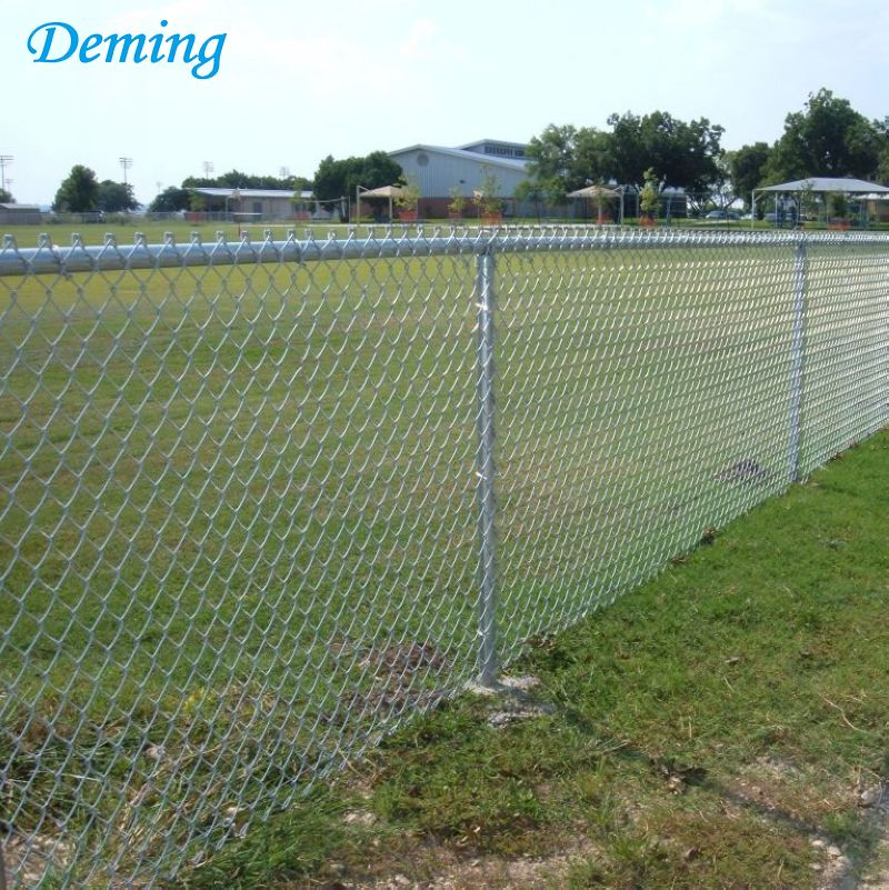 Lowes Price 50mm Diamond Chain Link Cyclone Wire Fence