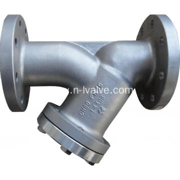 DIN 1.4408 Casted Y Type Strainer
