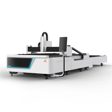 Fiber laser cutting stainless machine with exchange table