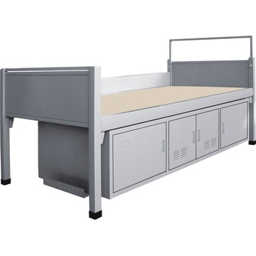 School Single Metal Bed