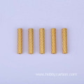 Wholesale Price Hole Aluminum Anodized Knurled Standoffs
