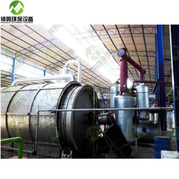 Crude Oil Refining Extraction Purification Process Machine