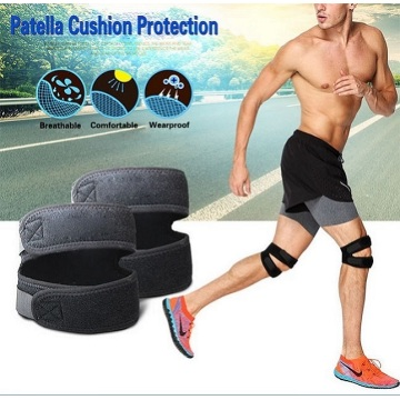 customized patella cushion pad knee brace