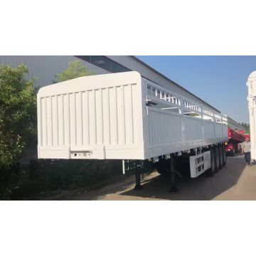 Factory direct supply flat bed trailer