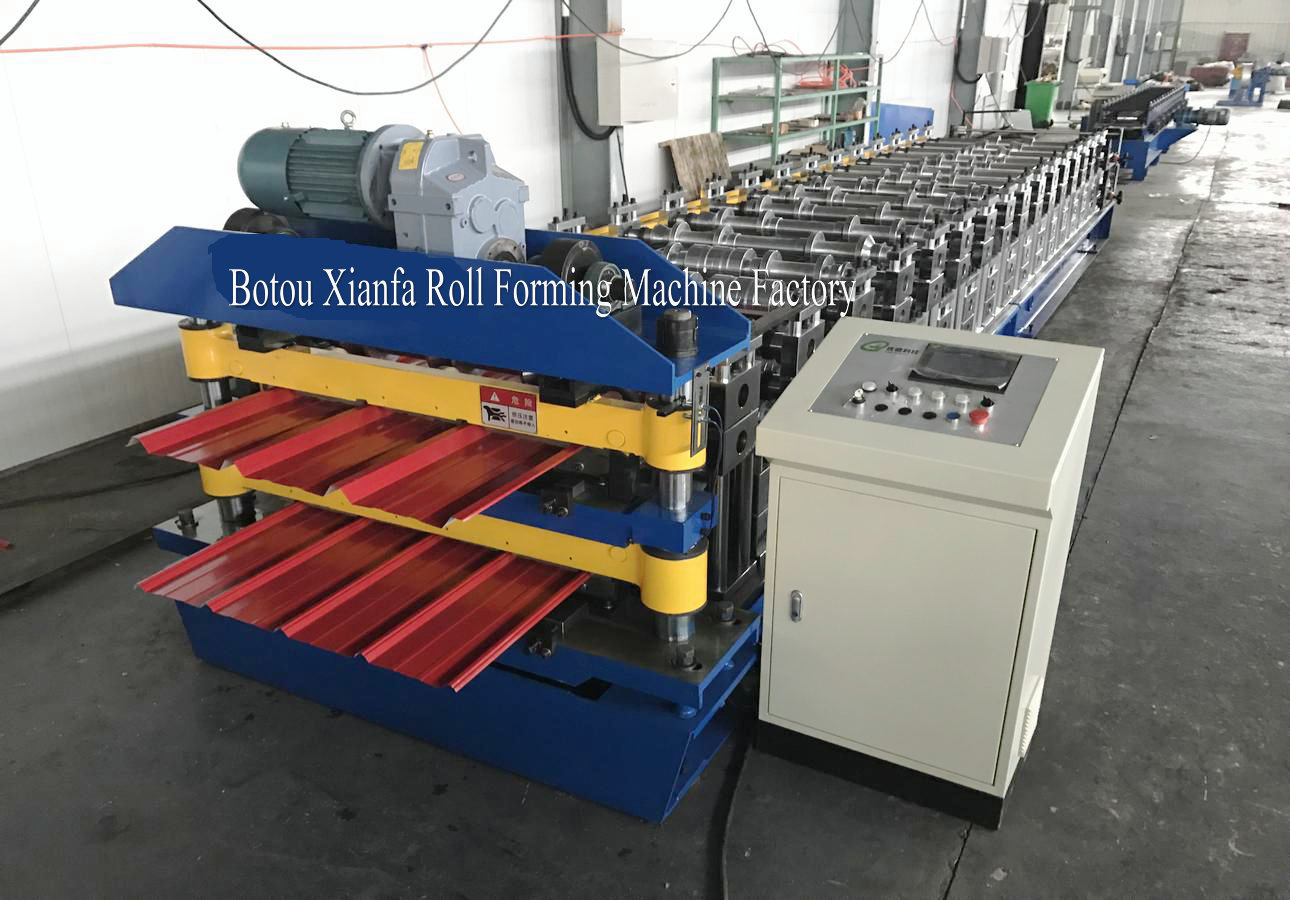 roof double layer equipment