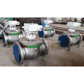 Stainless Top entry trunnion ball Valve